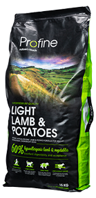 Profine Light Lam and Potatoes